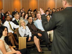 Como ministrar uma palestra