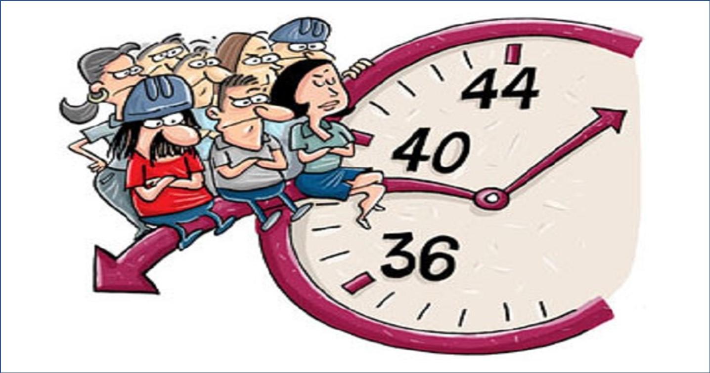 Mito de que o Dia precisa ter 36, 40hs.